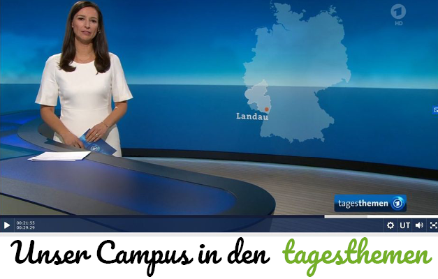 Der Landauer Campus in den tagesthemen